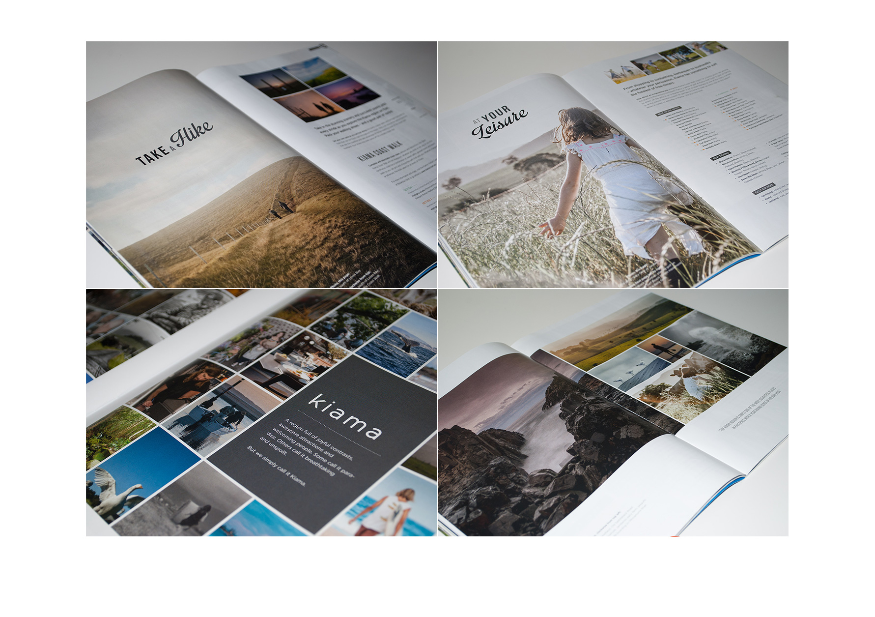 Kiama Tourism Guide Brochure Design
