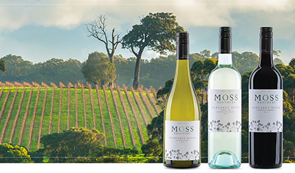 Moss Brothers Margaret River Wines Website design and development by Eureka Creative