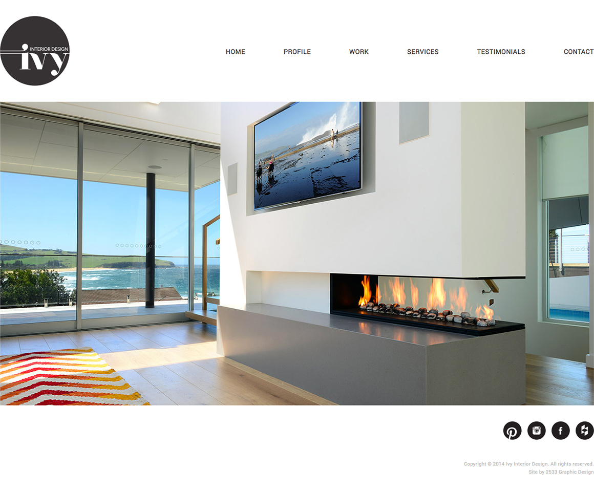 Ivy interior design website development and design by - Ivy interior design software reviews ...