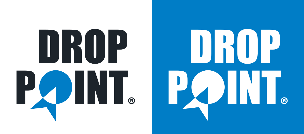Droppoint logo design by Eureka Creative